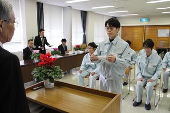301110農林大学校奨学金授与式①.JPG